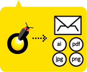 ロゴデザインデータの納品