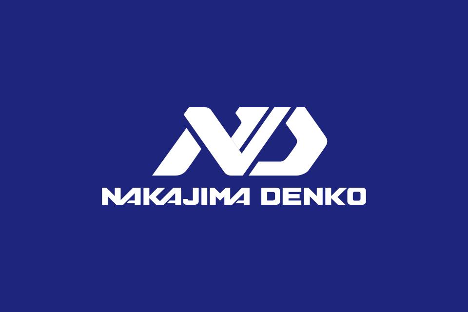 ロゴデザインの白抜き例