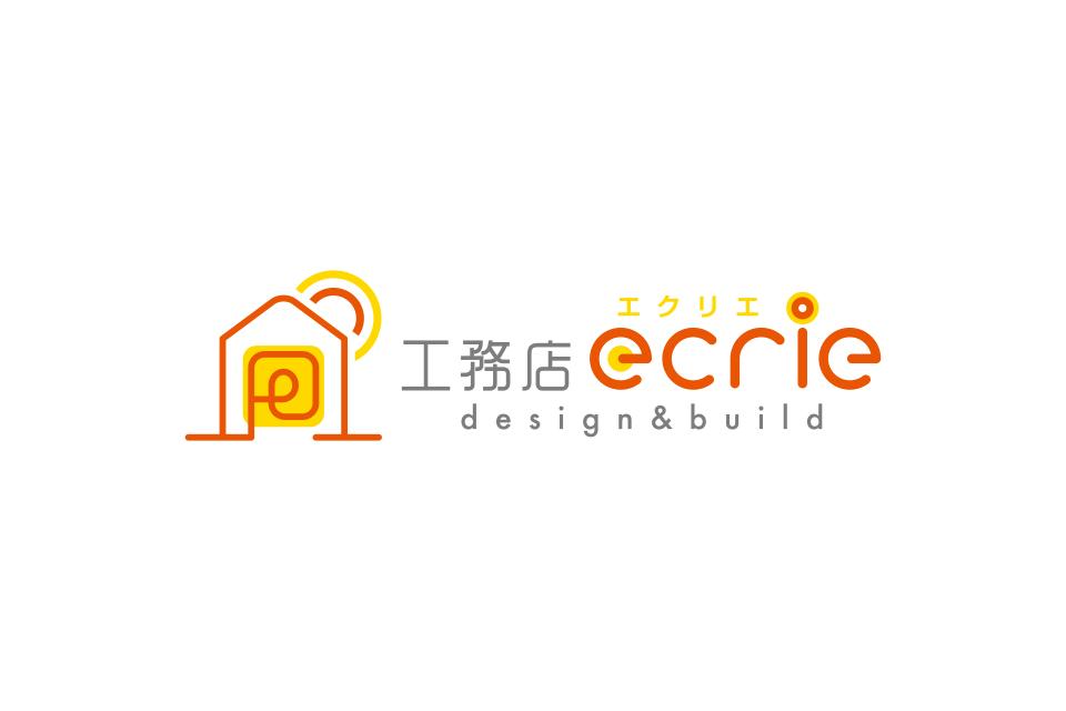 工務店の明るいロゴデザイン