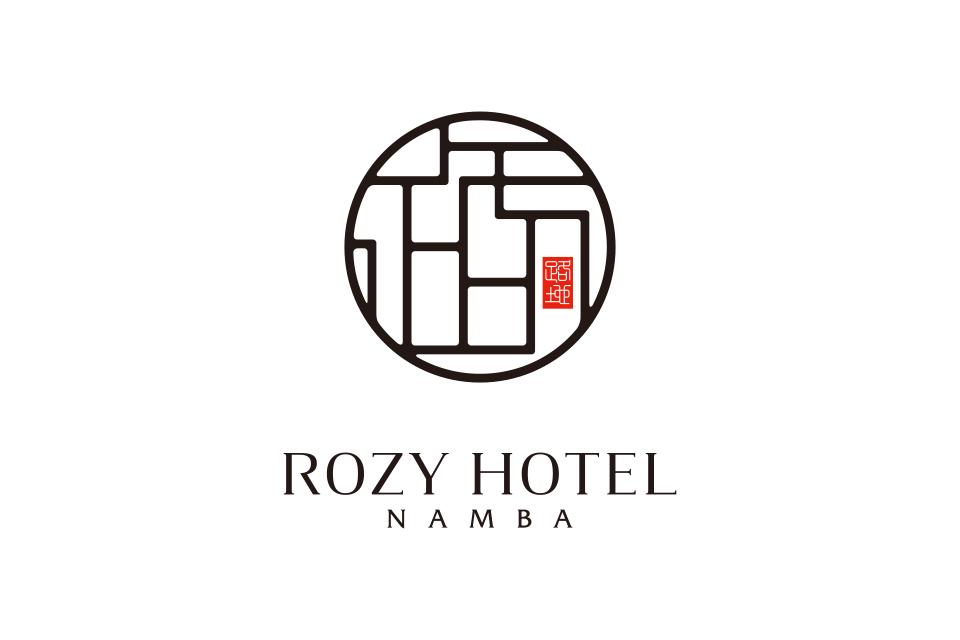 大阪のホテルの和イメージのロゴ