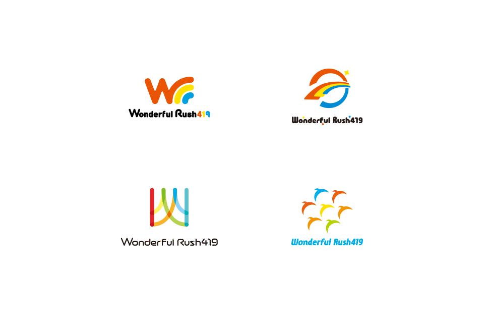ロゴマークの初回デザイン案