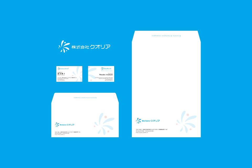 名刺、封筒のデザイン