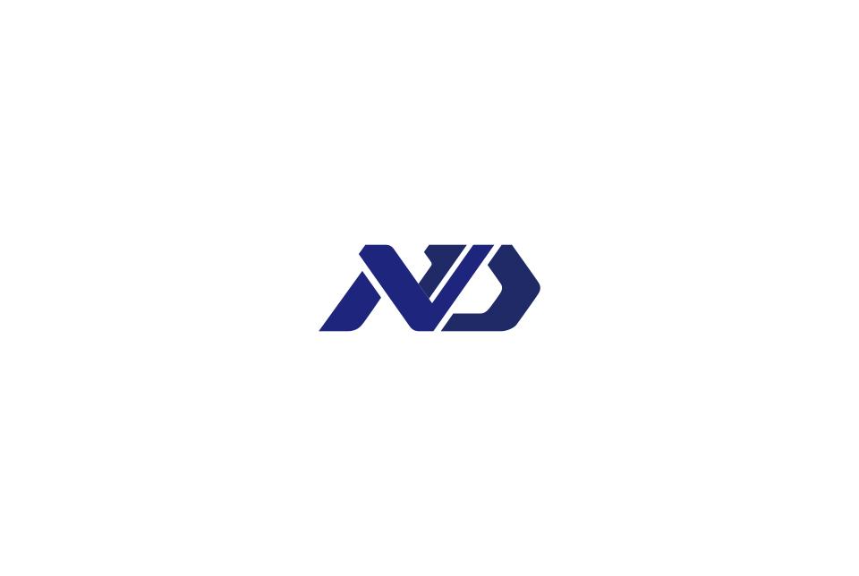 イニシャルをモチーフにした会社ロゴデザイン