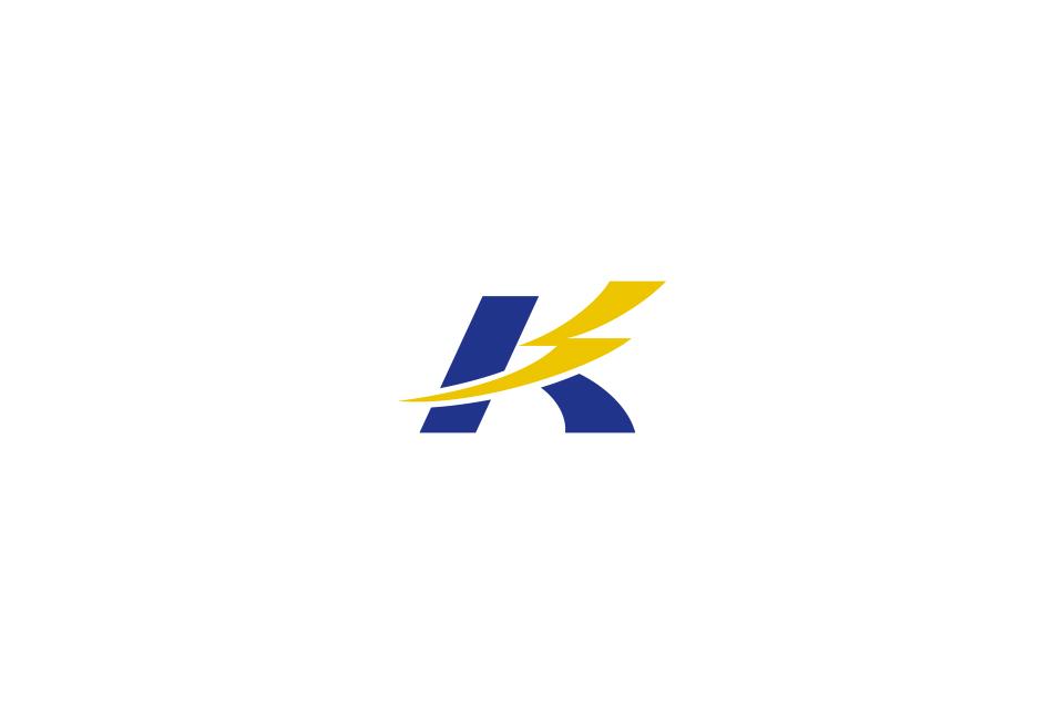 電気工事会社のロゴデザイン