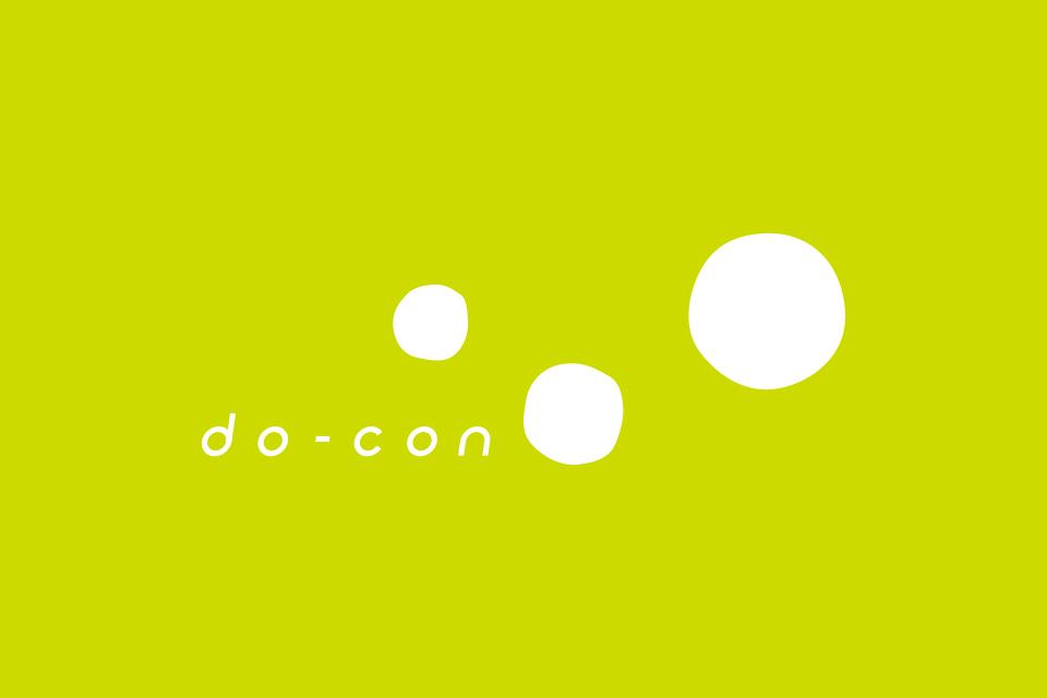 白抜きでのロゴデザインイメージ