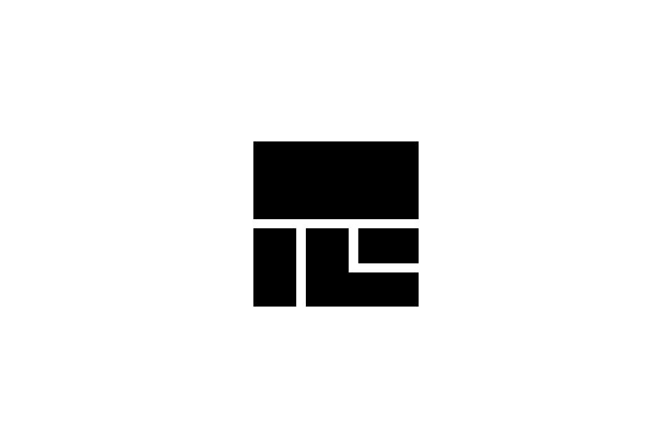 ロゴデザインのモノクロイメージ