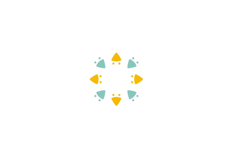 企業のシンボルマークデザイン