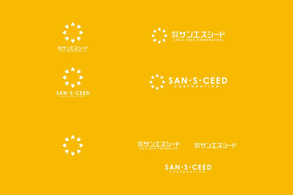 ロゴの白抜きバージョン